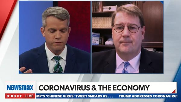 Dory Wiley on Newsmax Now discussing how small investors should react to markets today. featured image