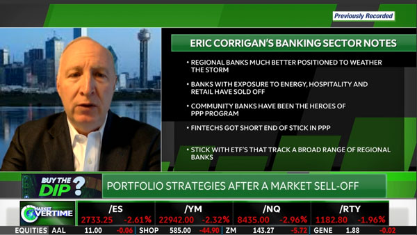 Eric Corrigan Assesses the Regional Bank Sector featured image