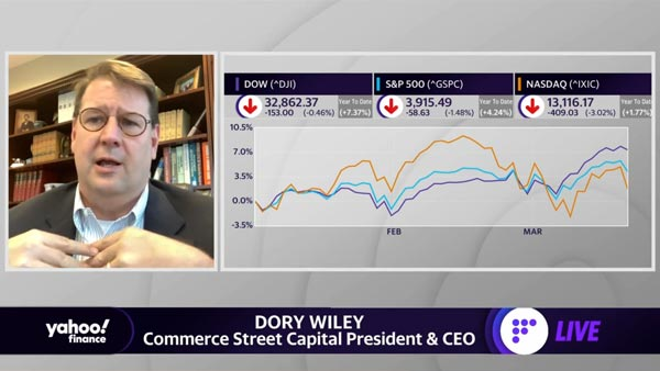 Dory Wiley Joins Yahoo! Finance in a Market Recap featured image